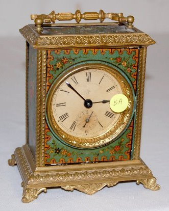 "Ansonia ""Oriole"" Musical Carriage Clock"
