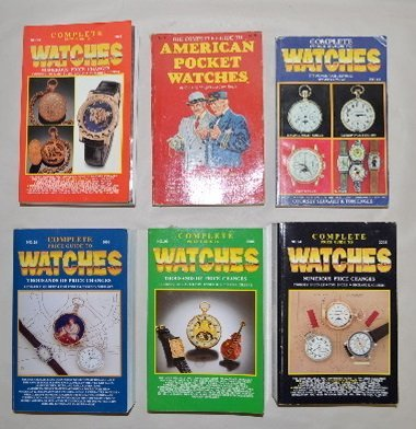 6 Shugart & Engle Watch Price Guides, 1982-2006
