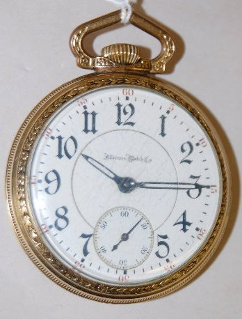 Illinois 187 17 RubyJ, 16S, OF Pocket Watch