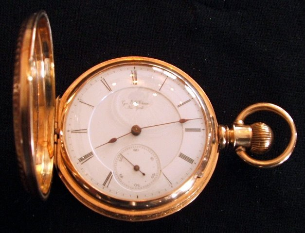 Marion 14K 15J 16S LS KW/KS HC Pocket Watch