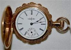 Illinois 6S SW LS GF No 1256019 HC Pocket Watch