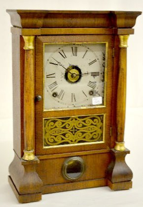 Seth Thomas Miniature Column Shelf Clock