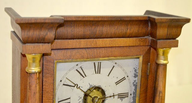 Seth Thomas Miniature Column Shelf Clock - 2