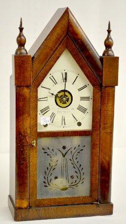 E.C. Brewster & Son Steeple Mantel Clock