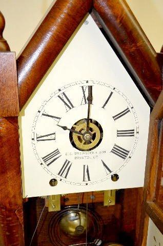 E.C. Brewster & Son Steeple Mantel Clock - 2