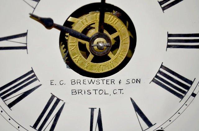 E.C. Brewster & Son Steeple Mantel Clock - 3