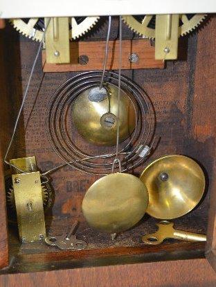 E.C. Brewster & Son Steeple Mantel Clock - 4