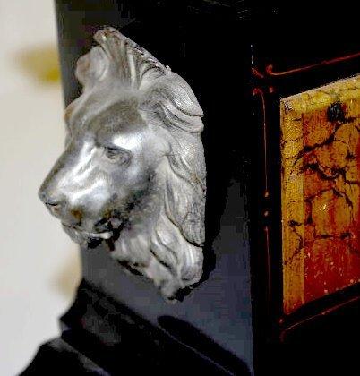 "Ansonia ""Venice"" Enameled Iron Case Mantel Clock - 2"
