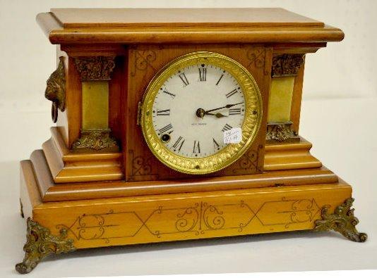 Seth Thomas Wood Mantel Clock