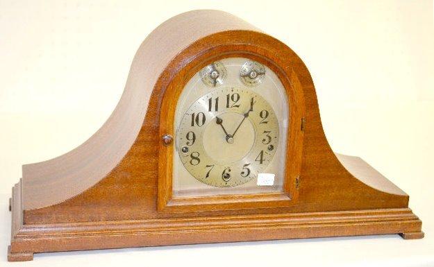 Waterbury Cherry Westminster Tambour Clock