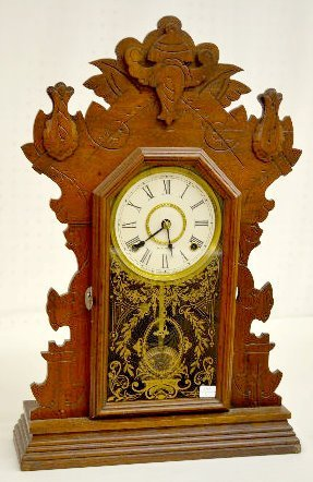 "Seth Thomas Walnut ""Harvard"" College Series Clock"