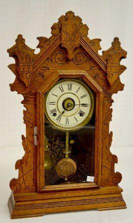 "Seth Thomas Oak ""Oxford"" College Series Clock"