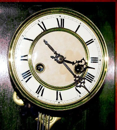 Badische Uhrenfabrik 2 Piece RA Shelf Clock - 5