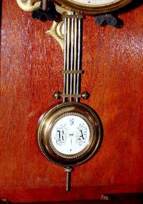 Badische Uhrenfabrik 2 Piece RA Shelf Clock - 6