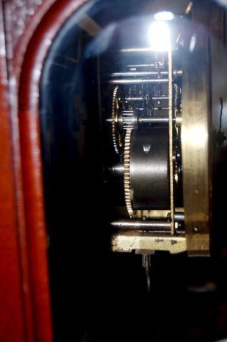 Badische Uhrenfabrik 2 Piece RA Shelf Clock - 7
