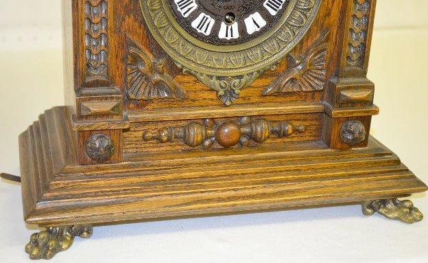 "Gazo Oak ""Mission Bay"" Chiming Cabinet Clock - 4"