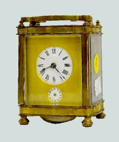 French Bell Strike Carriage Clock