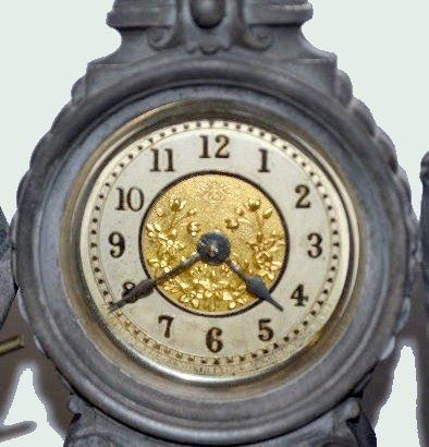 "Ansonia Double Statue Clock, ""Croquet"" - 4"