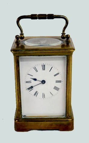 French Carriage Clock with Visual Top