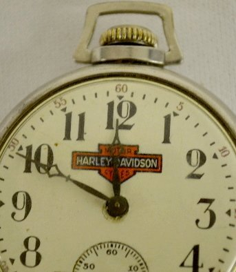 Harley Davidson Novelty Pocket Watch - 2