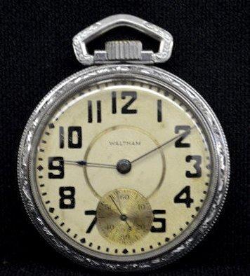 Waltham Vanguard 23 J 16S OF Pocket Watch