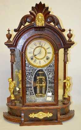 Ansonia Quot Triumph Quot Mirror Side Parlor Clock