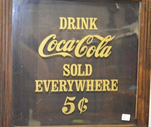 """Sessions Oak """"Coca Cola"""" Regulator Clock - 4"""
