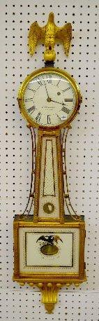 E. Howard & Co. S. Willard Patent Banjo Clock