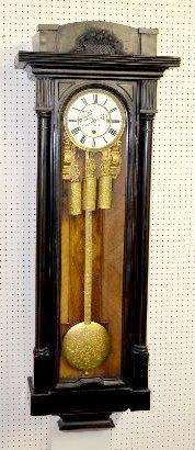 "A. Schebelik 30 Day Vienna Regulator Clock, 68"""