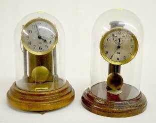 Poole & Barr Battery Operated Dome Clocks