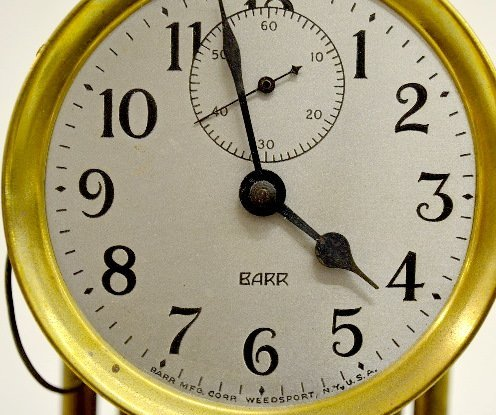 Poole & Barr Battery Operated Dome Clocks - 4