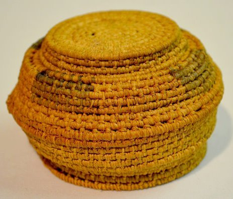 4 Small Native American Basketry Items - 3