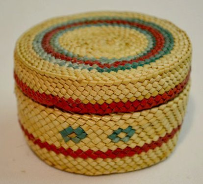 4 Small Native American Basketry Items - 4