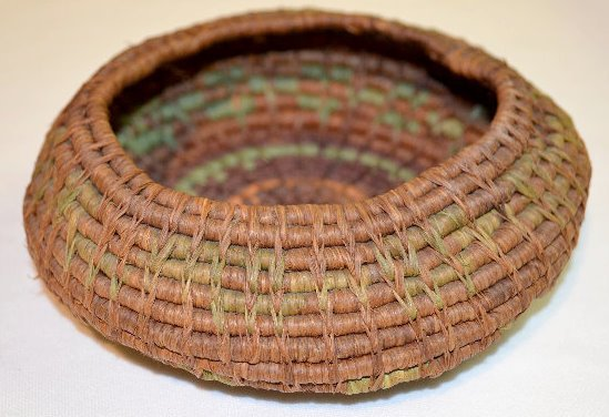 4 Small Native American Basketry Items - 6