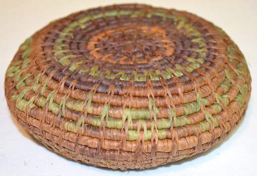 4 Small Native American Basketry Items - 7