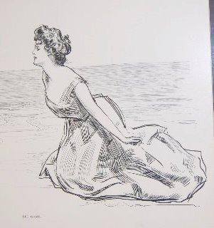 "Framed Life 1900 ""Big Game"" Cupid Print - 3"