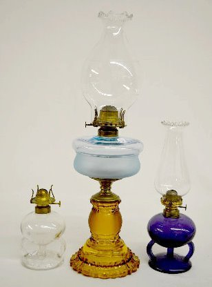 "2 Ripley's Patent Hand Lamps & ""Apollo"" Kero Lamp"