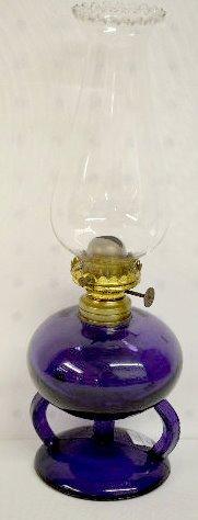 "2 Ripley's Patent Hand Lamps & ""Apollo"" Kero Lamp - 8"