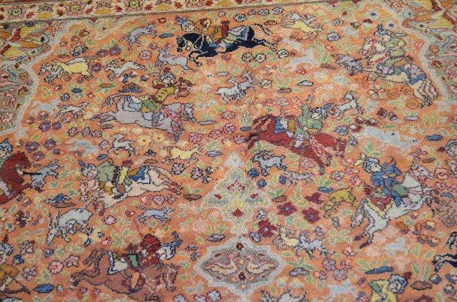"Karastan Hunting Scene Persian Rug, 12' x 8' 8"" - 3"