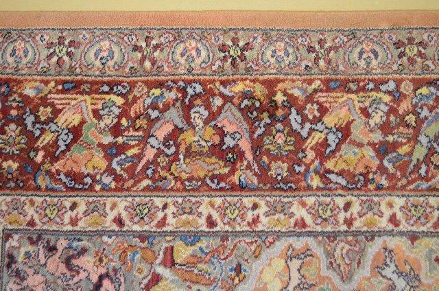 "Karastan Hunting Scene Persian Rug, 12' x 8' 8"" - 6"