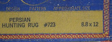"Karastan Hunting Scene Persian Rug, 12' x 8' 8"" - 9"