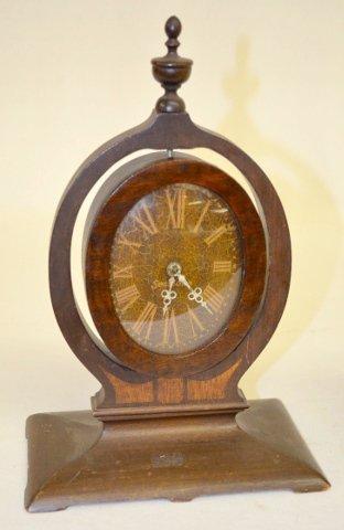 2 Wooden Easel Dresser Clocks, Seth Thomas + - 2