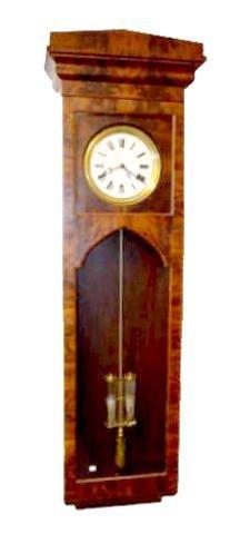 Mahogany Jeweler's Pinwheel Regulator Clock