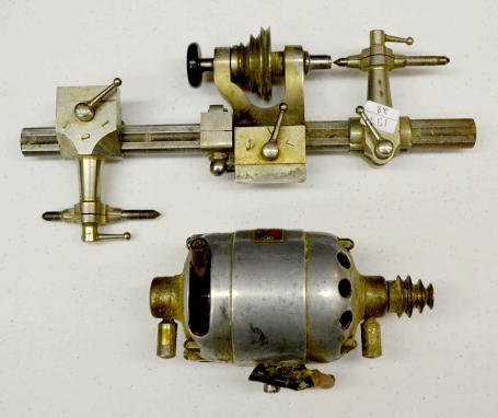 8 mm Watchmakers Lathe & Motor