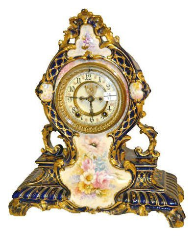 Ansonia Royal Bonn La Cerda China Clock