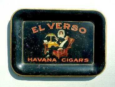 1005: El Verso advertising tray