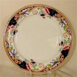 12 pc. George Jones dinner plates