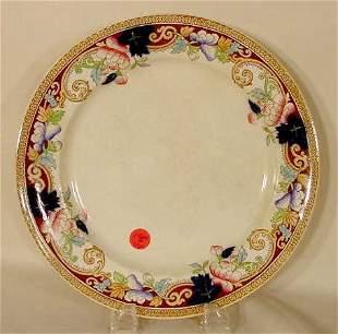 10 pc. George Jones dinner plates
