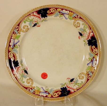 1020D: 10 pc. George Jones dinner plates