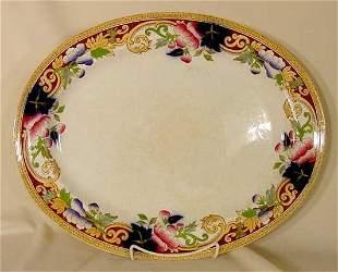 """unmarked George Jones 19 1/2"""" platter"""